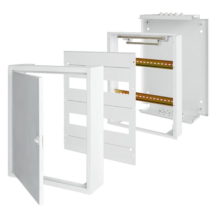 Rozložení rozvaděčů SEZ M-BOX N na omítku